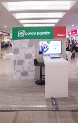 Marca BANCO POPULAR STAND