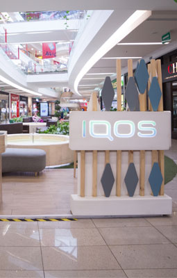 Marca IQOS STAND